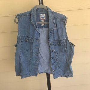 St. johns bay jean jacket